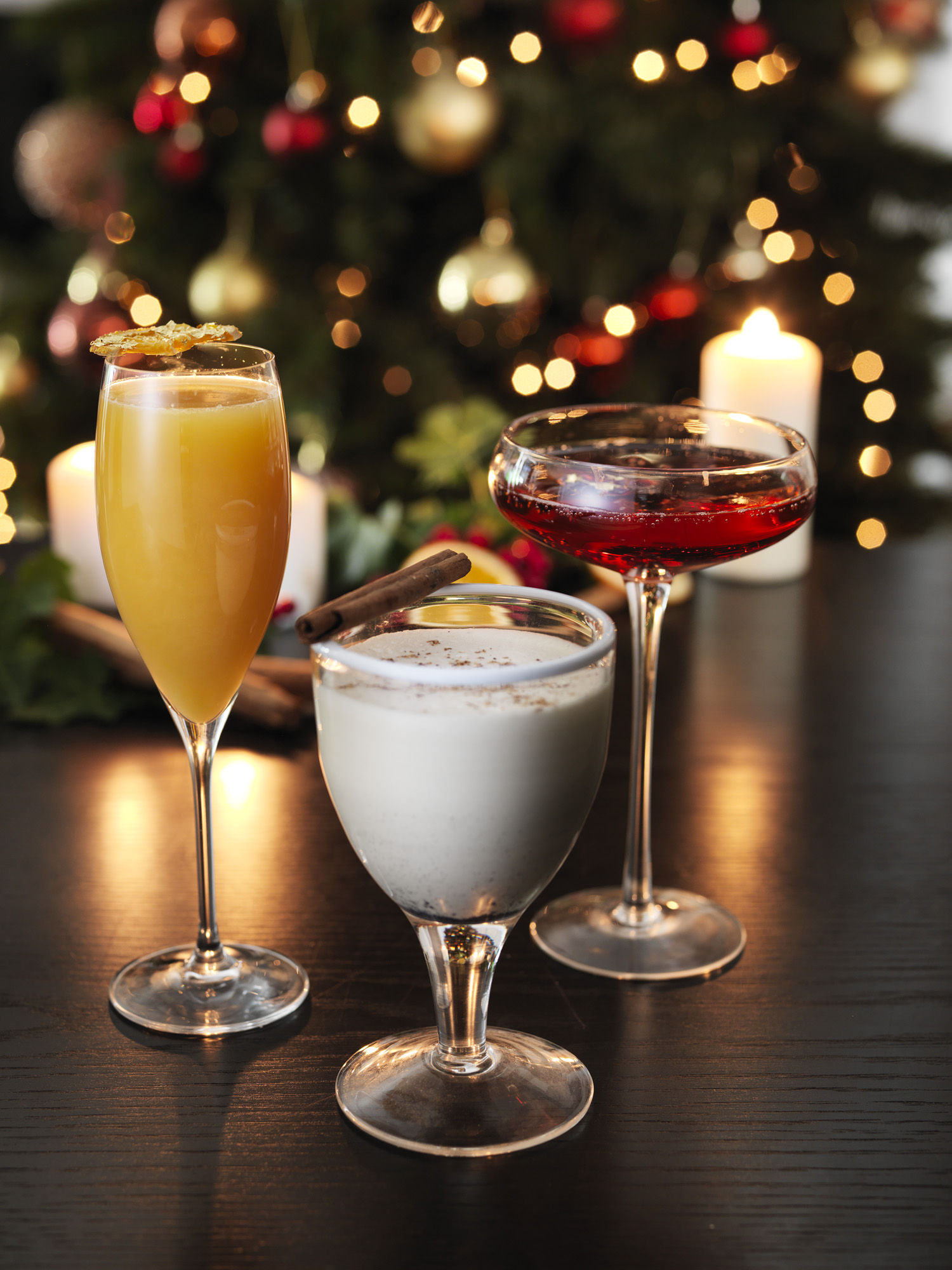 KWS Getting Ready for Christmas Cocktails