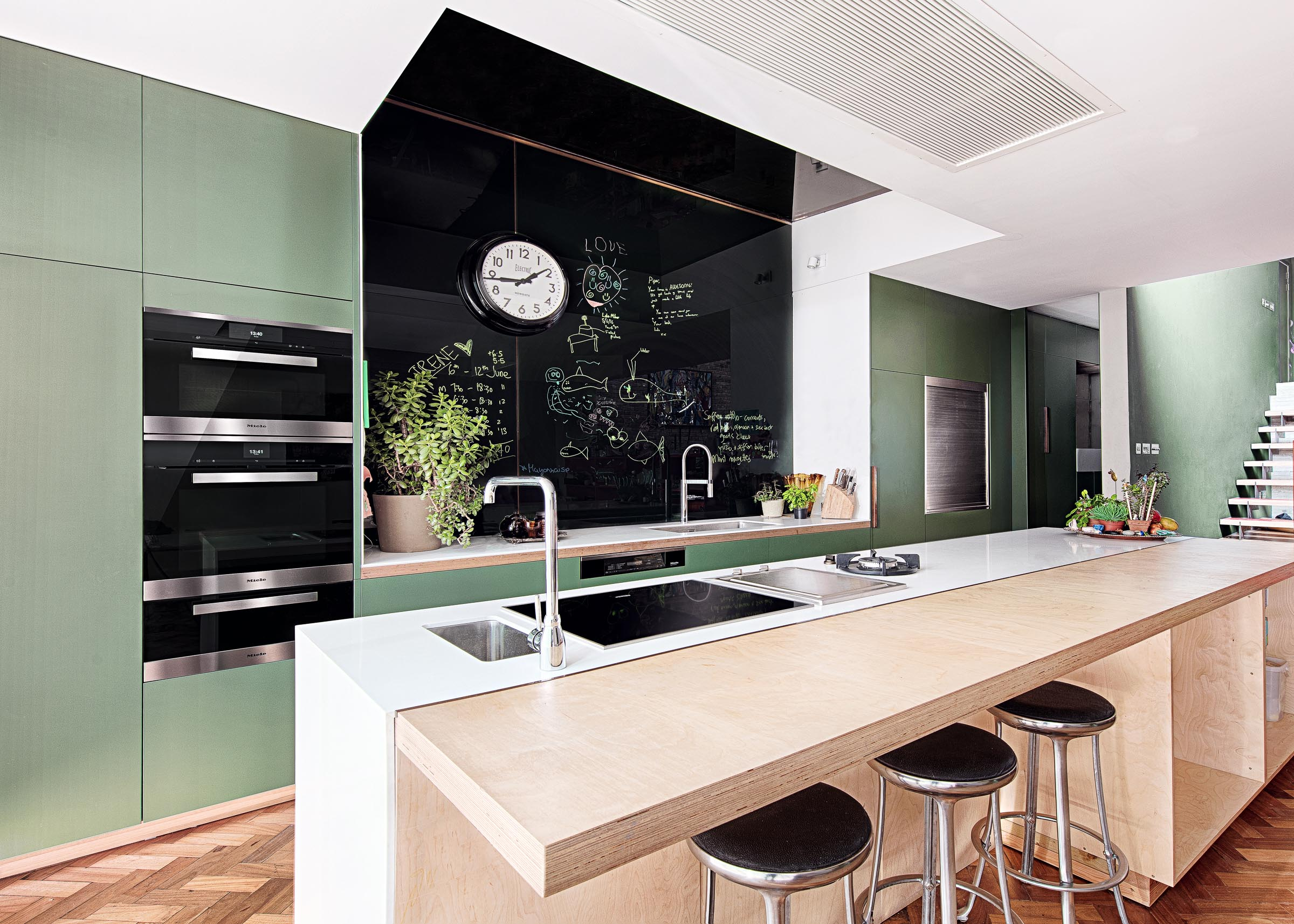 Miele Anna Hansen Kitchen - Kitchen Diner