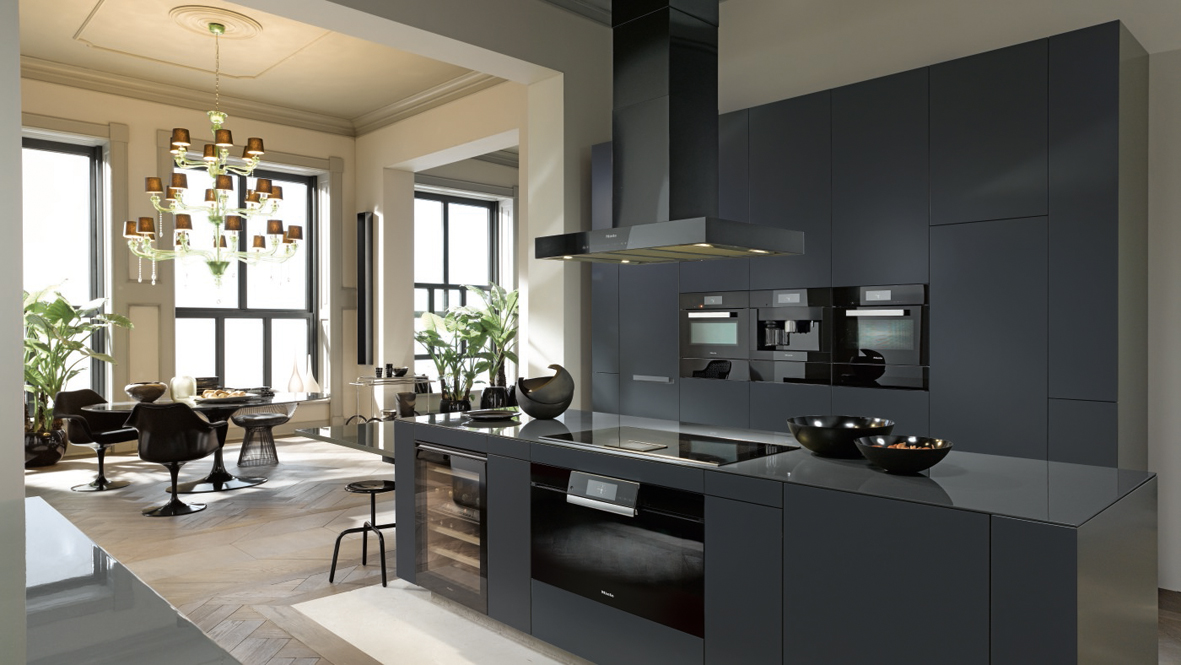 Miele Arranging Appliances Obsidian Black