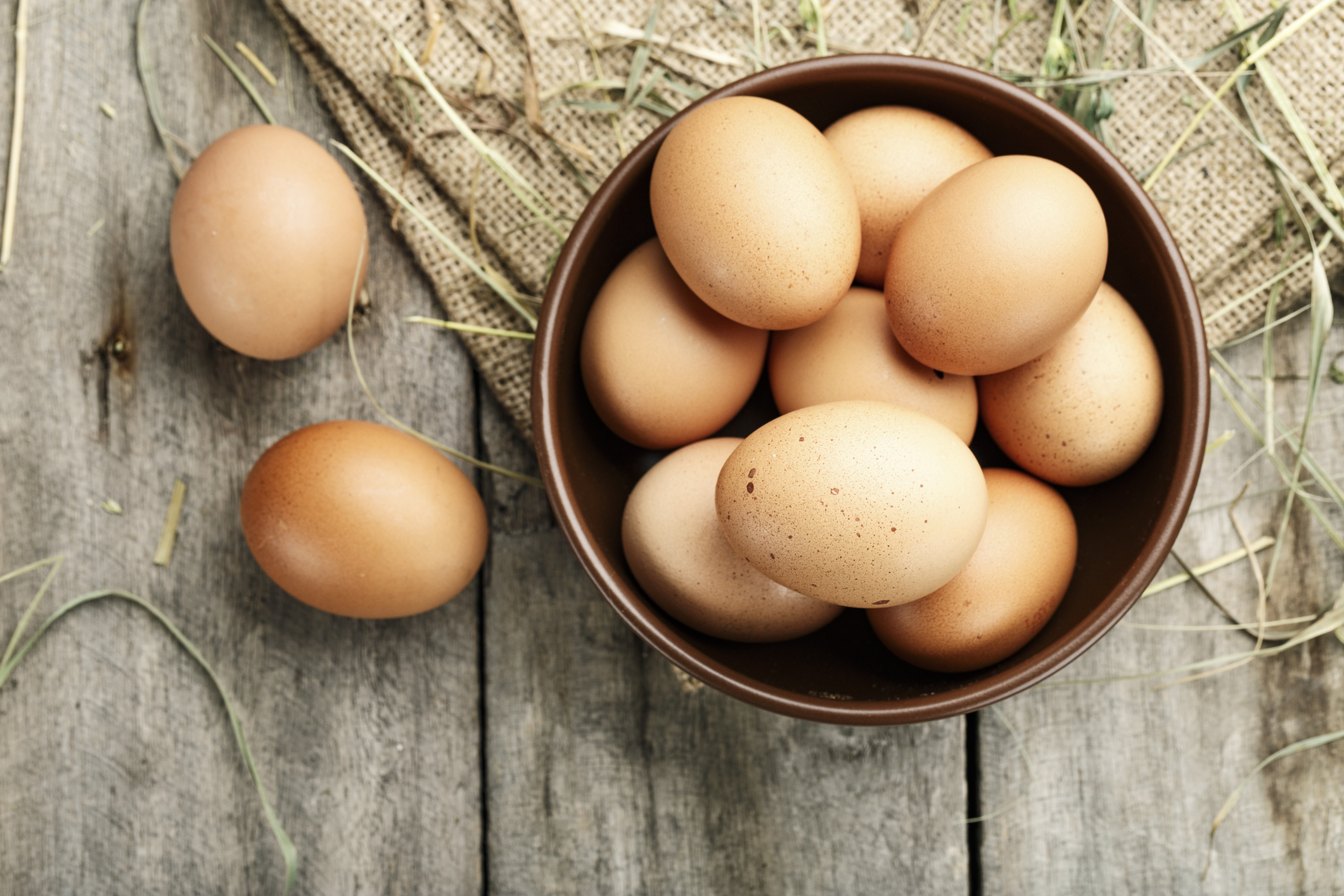 Getty Image: Eggs in Bowl