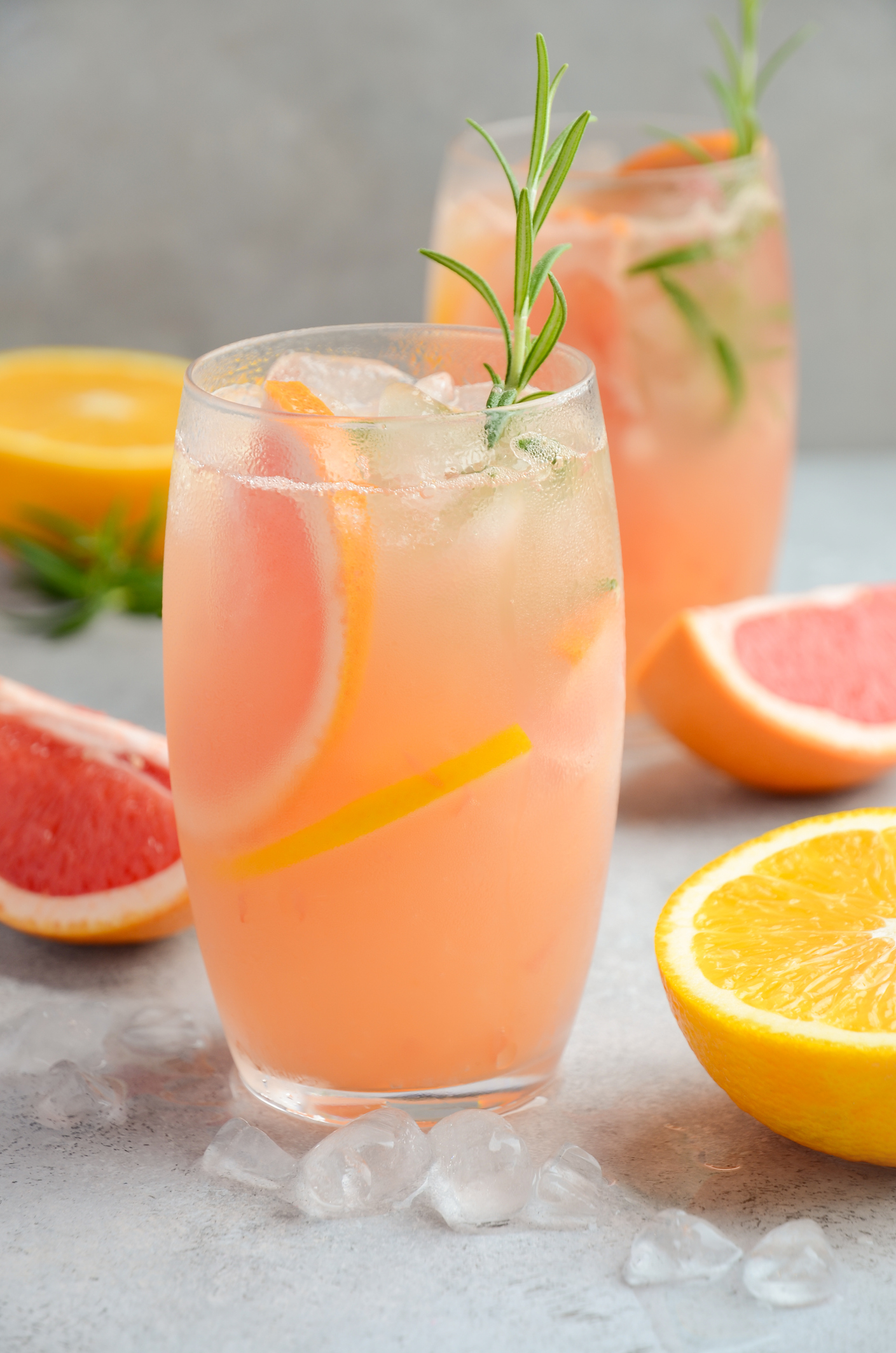 Getty Images - Grapefruit Mocktail