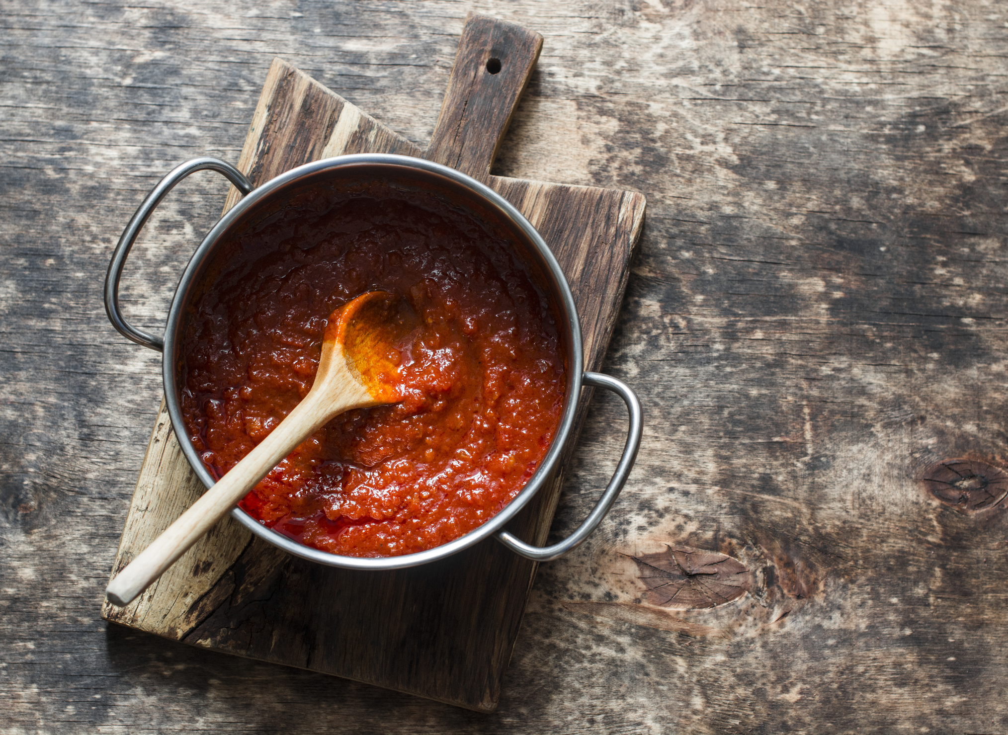 Getty Images  - Red Sauce