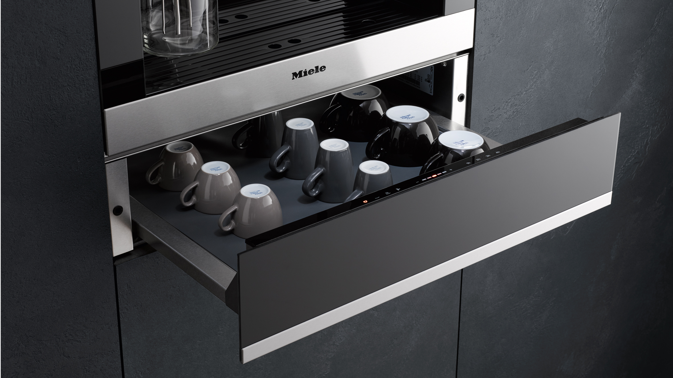 Miele More than a Warming Drawer Mugs