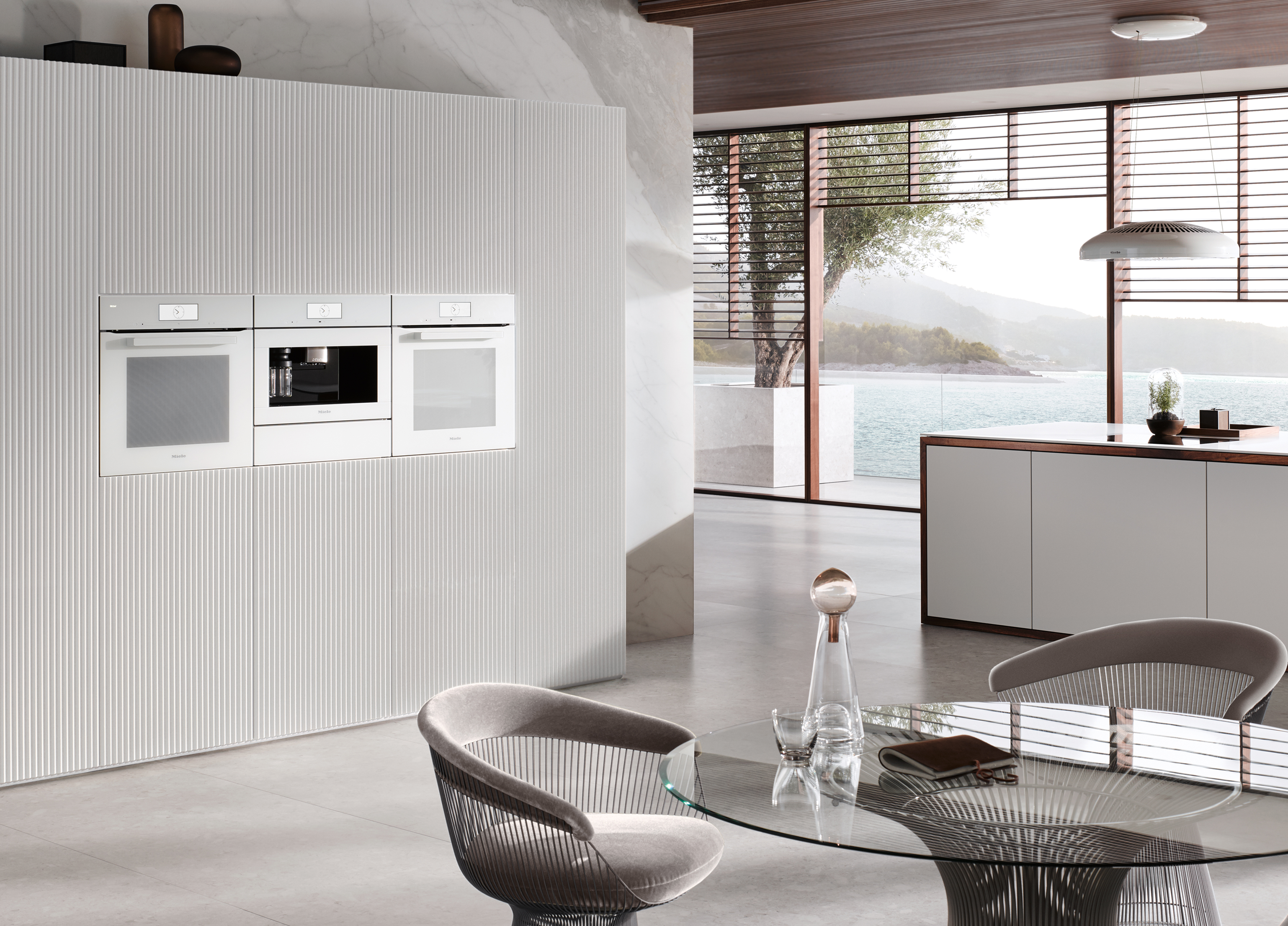 Miele Generation 7000 VitroLine in Brilliant White