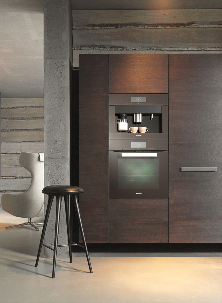 Miele Appliances Havana Brown Two Niche