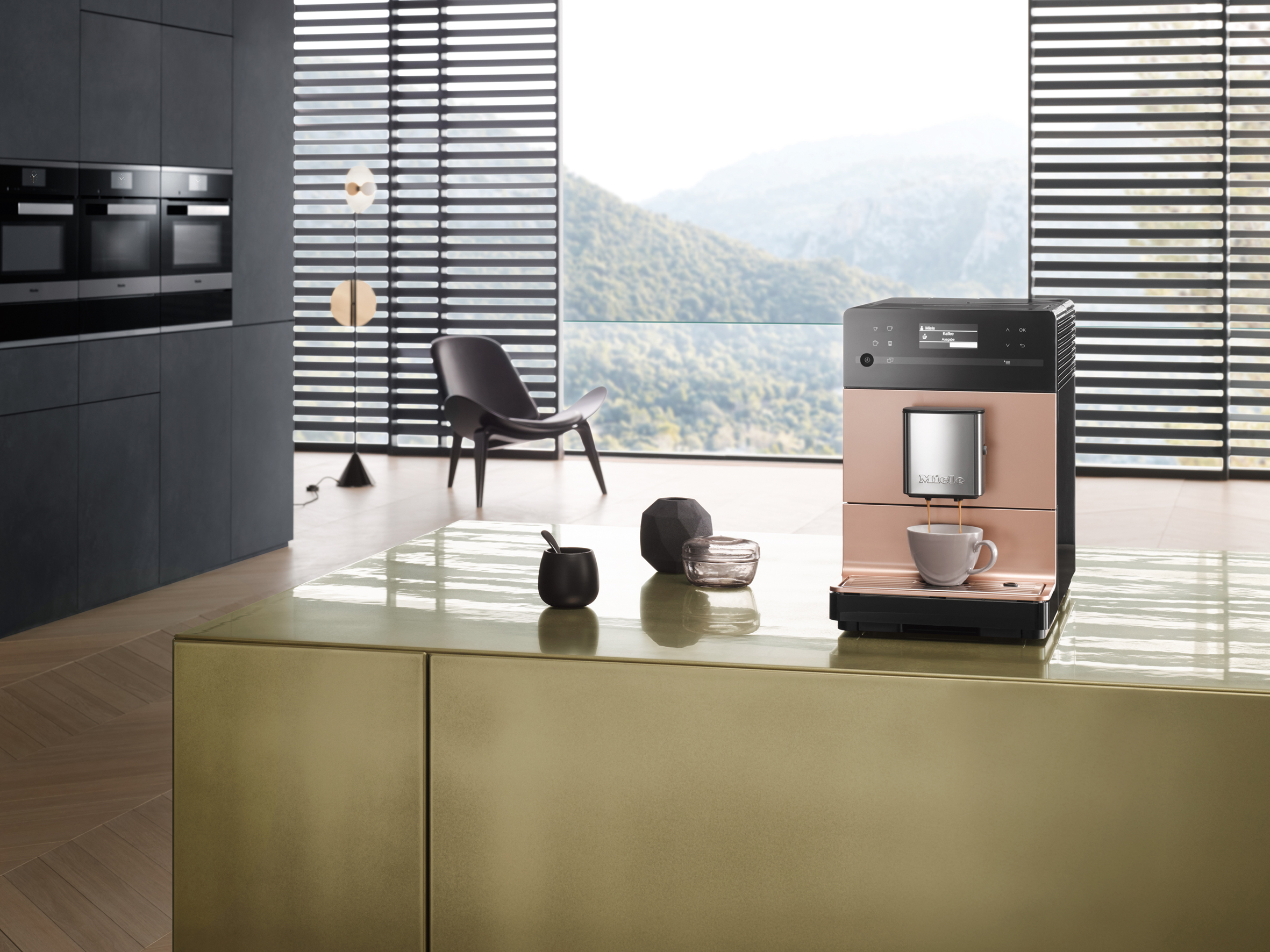 Miele Exclusive Collection CM5500 Rose Gold Coffee Machine