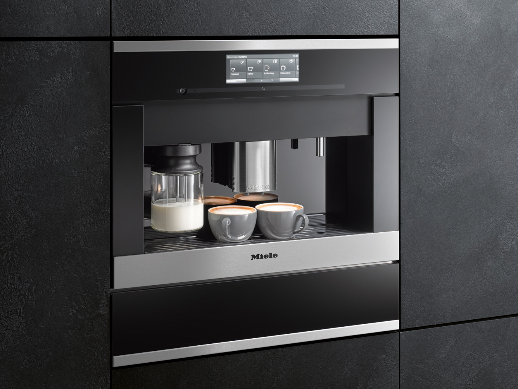 Miele Six of the best for entertaining coffee