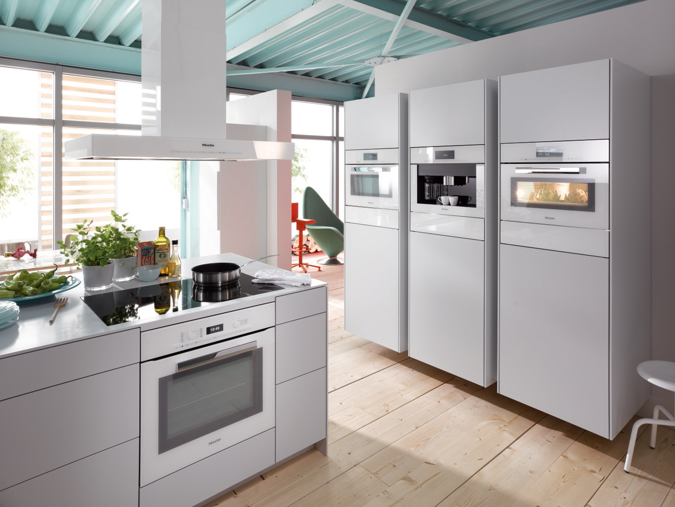 Miele Brilliant White Appliances