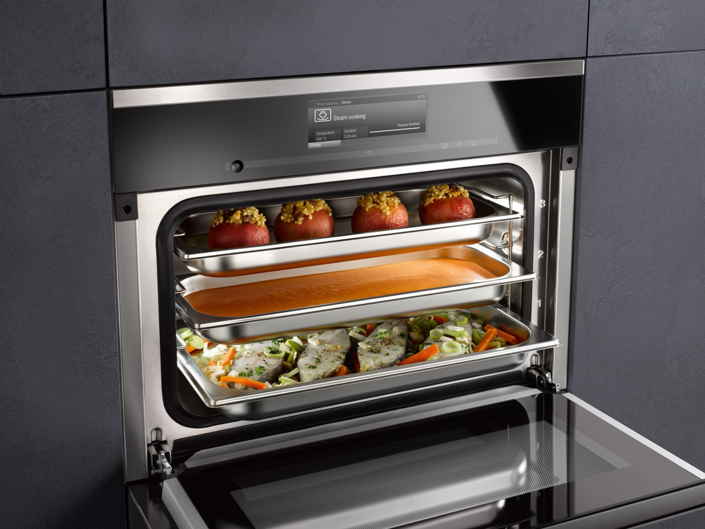 Miele Six of the best for entertaining steam oven
