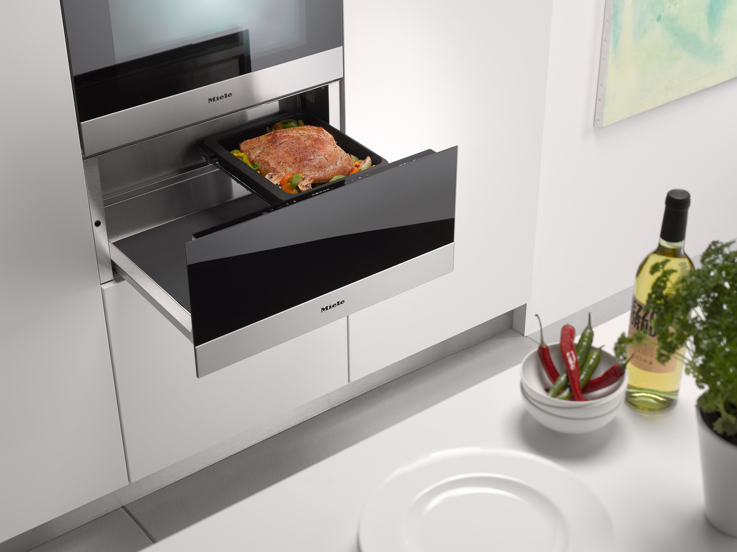 Miele Cooking Like a Pro at Home Gourmet Warming Drawer