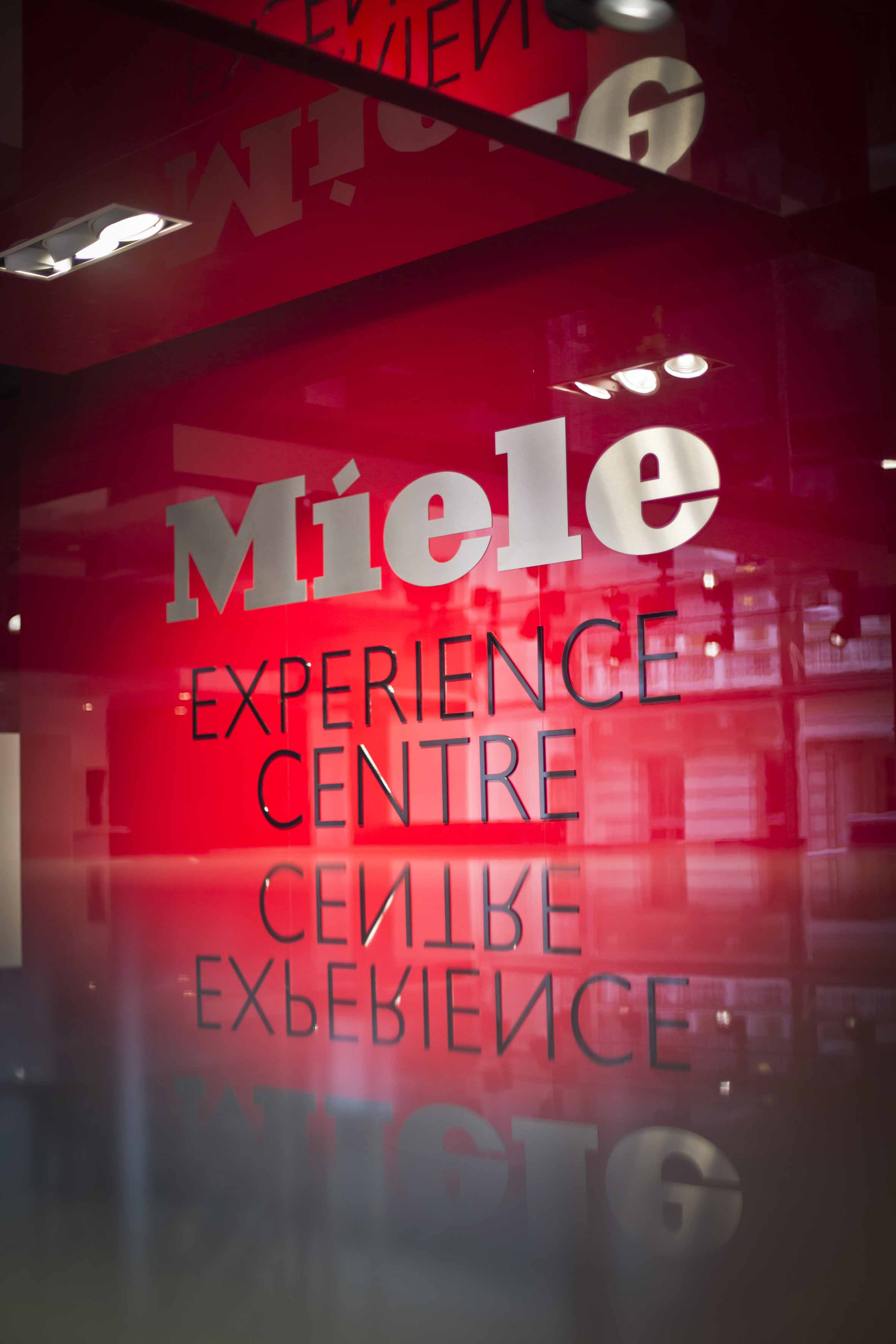 Miele Experience Centre Sign