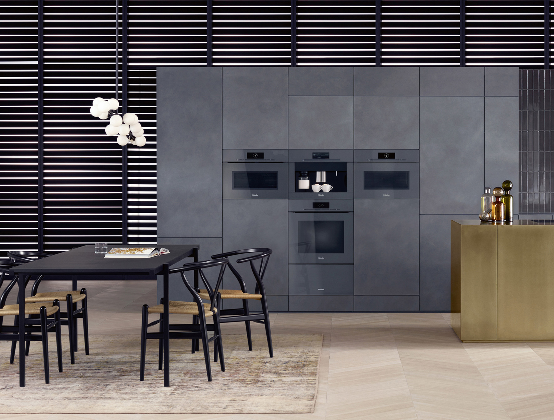 Miele ArtLine Appliances in Graphite Grey