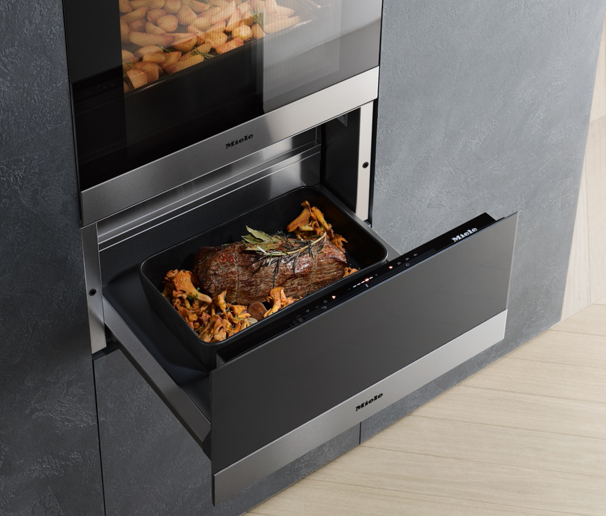 Miele Six of the best for entertaining warming drawer