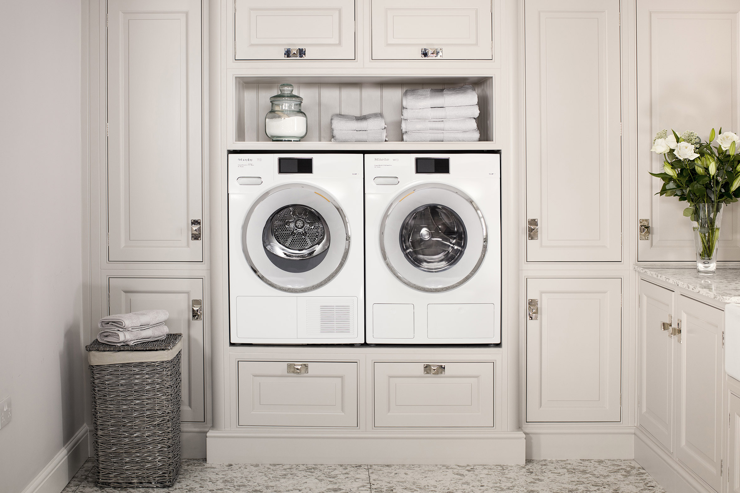 Miele Utility Room W1 and T1 Machines