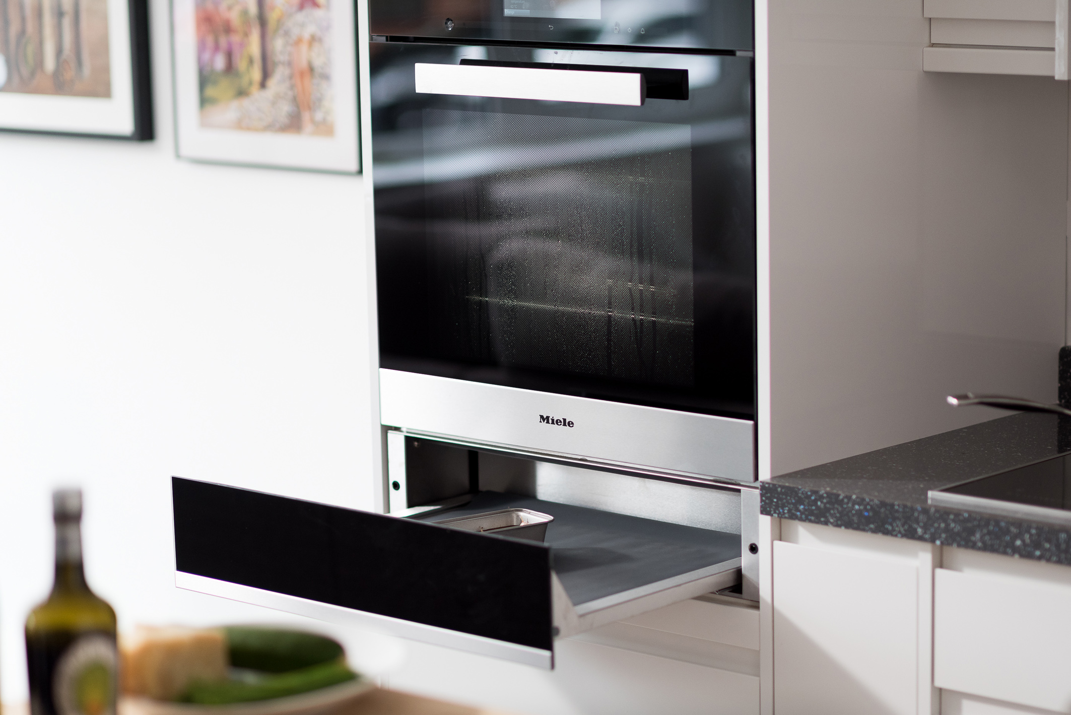 Miele Steam Combnation Oven and Vacuum Drawer