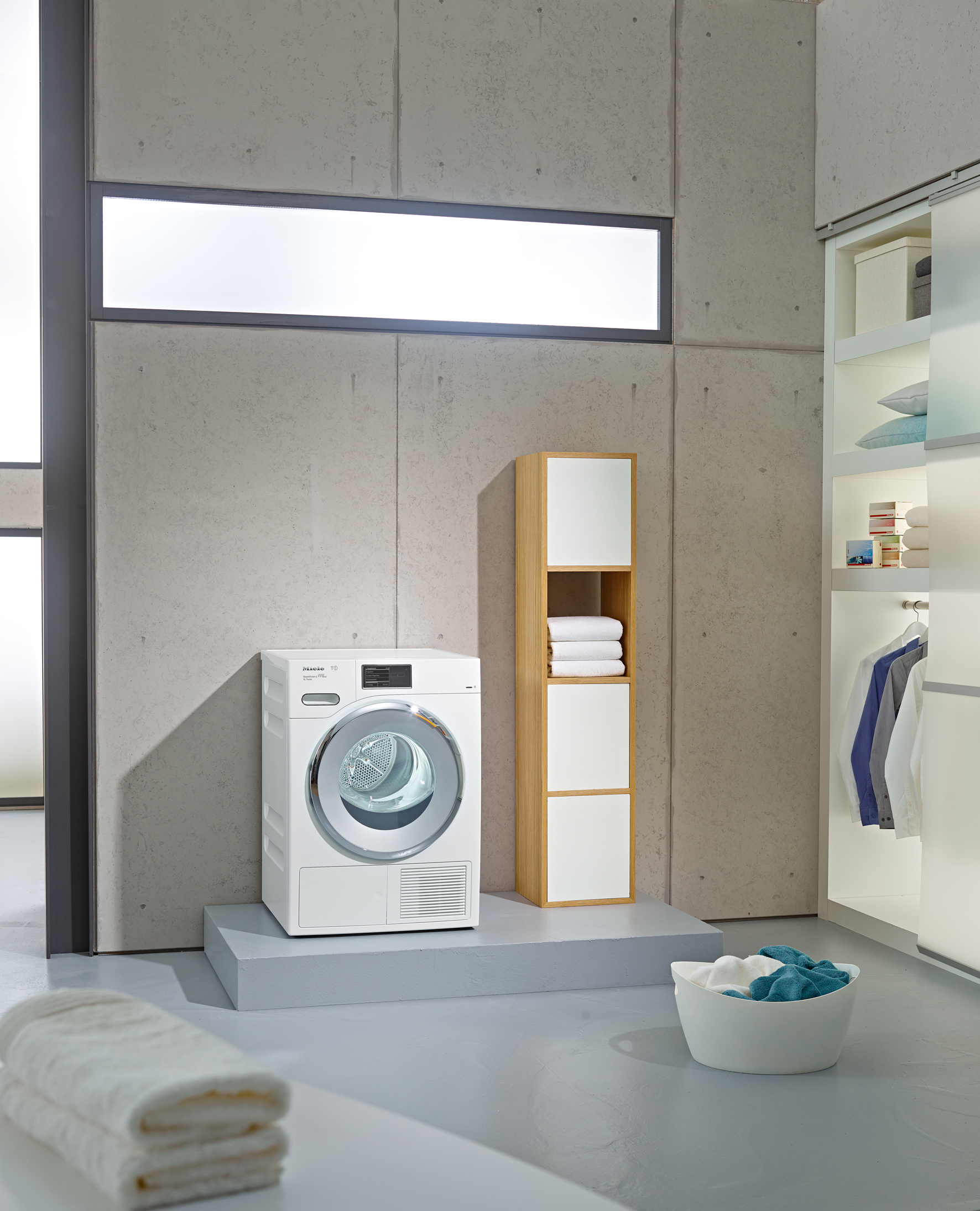 Miele Exclusive Collection TMV 840 WP Tumble Dryer