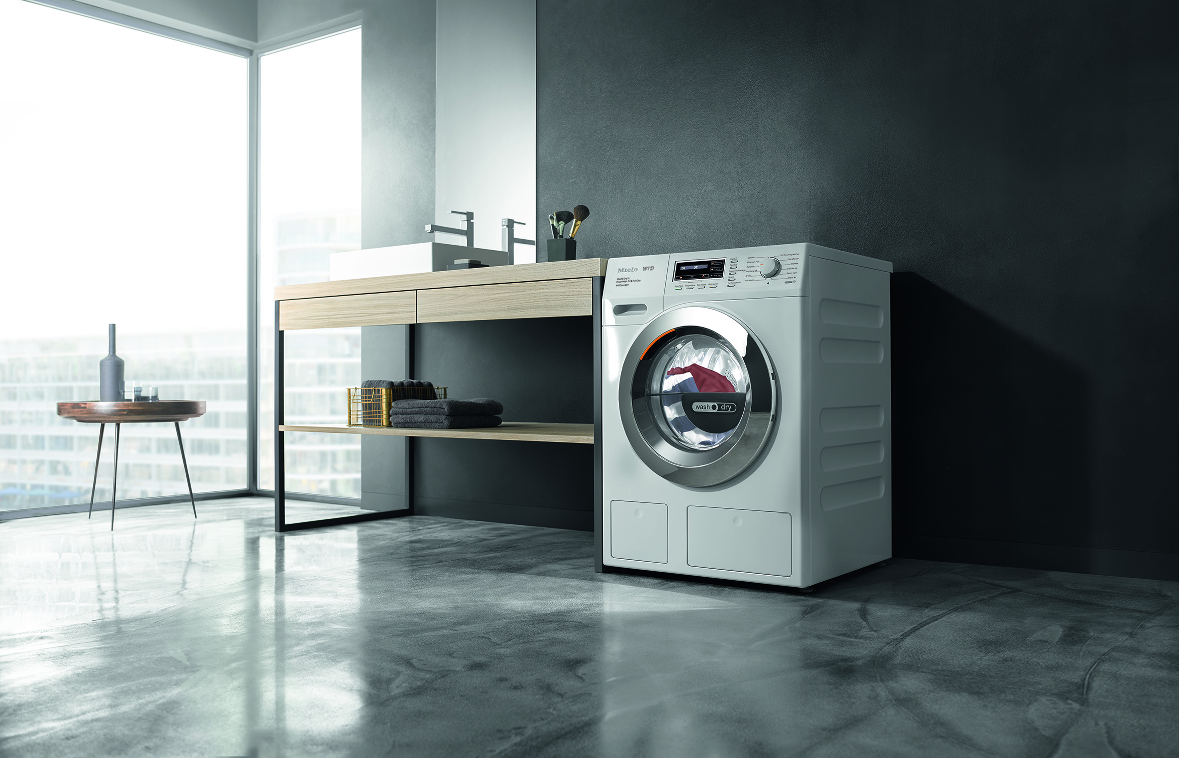 Miele Busy Familes WTZH130 Washer Dryer