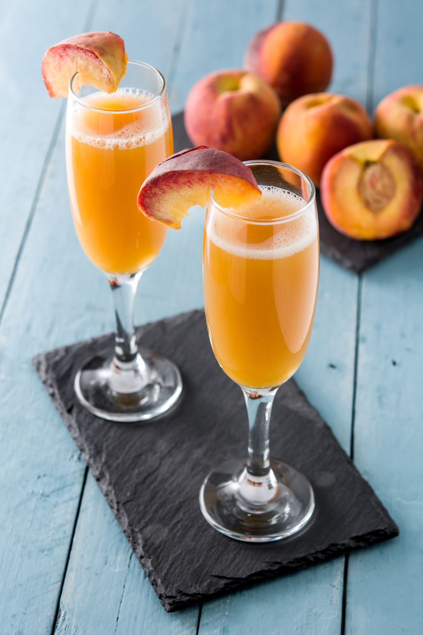 Getty Images - Peach Mocktail