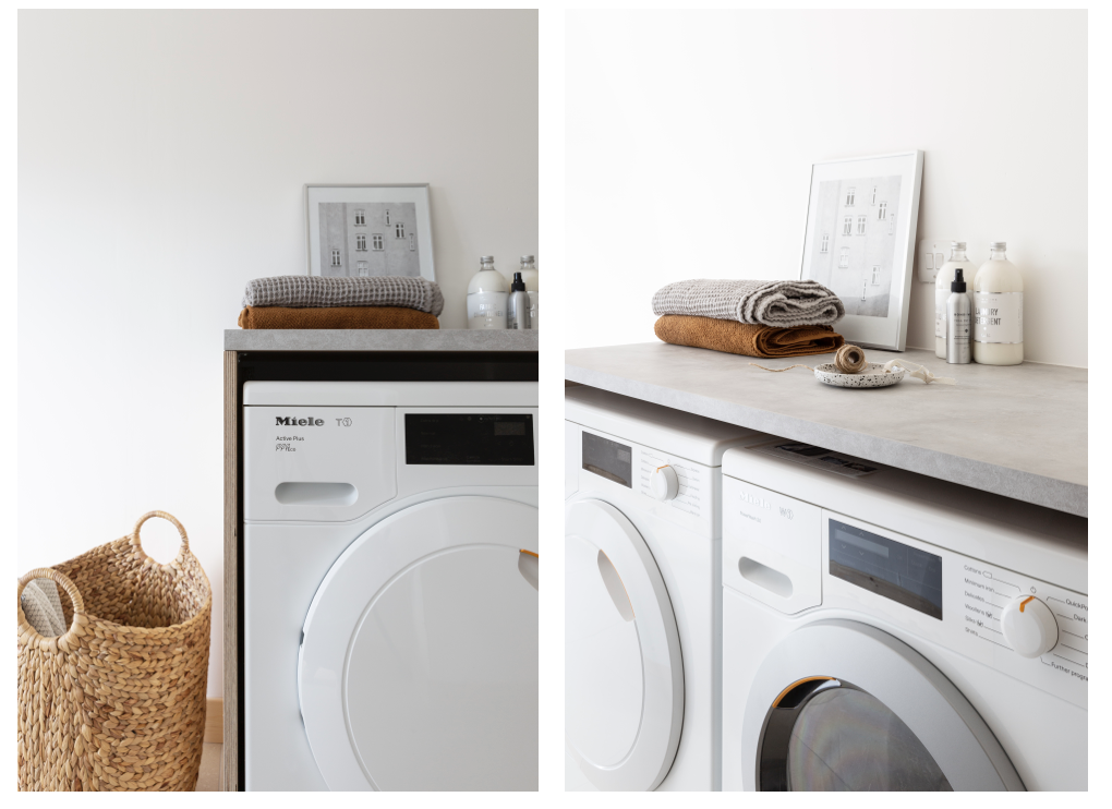 Hege Morris Miele Utility Washing and Tumble Dryer