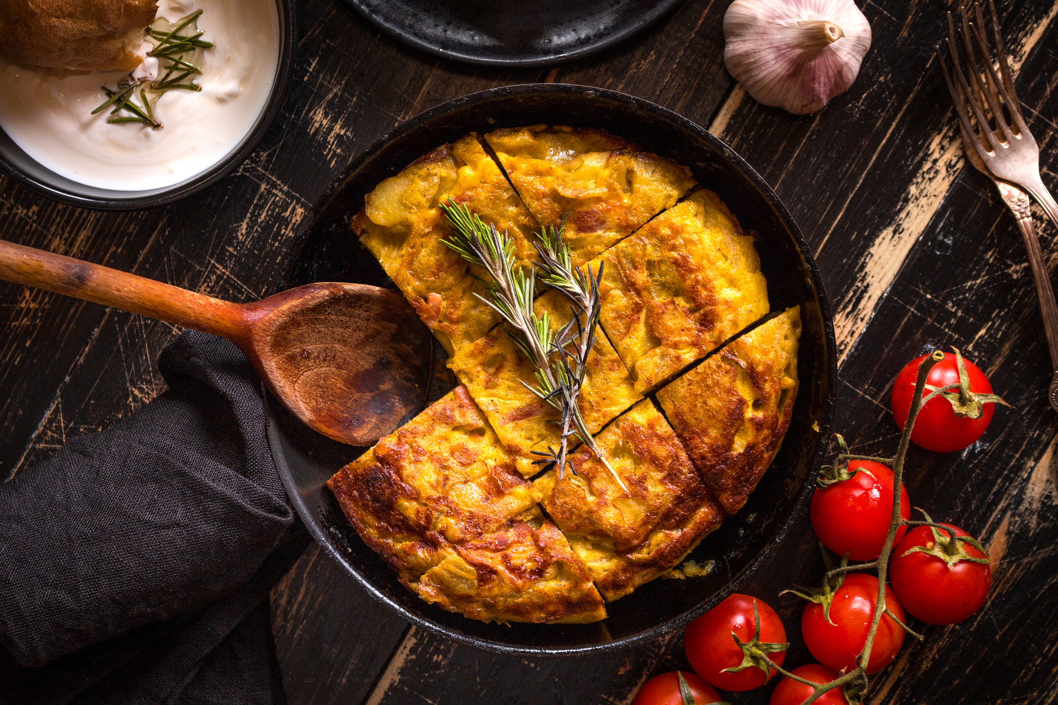Getty Images - Spanish Omlette