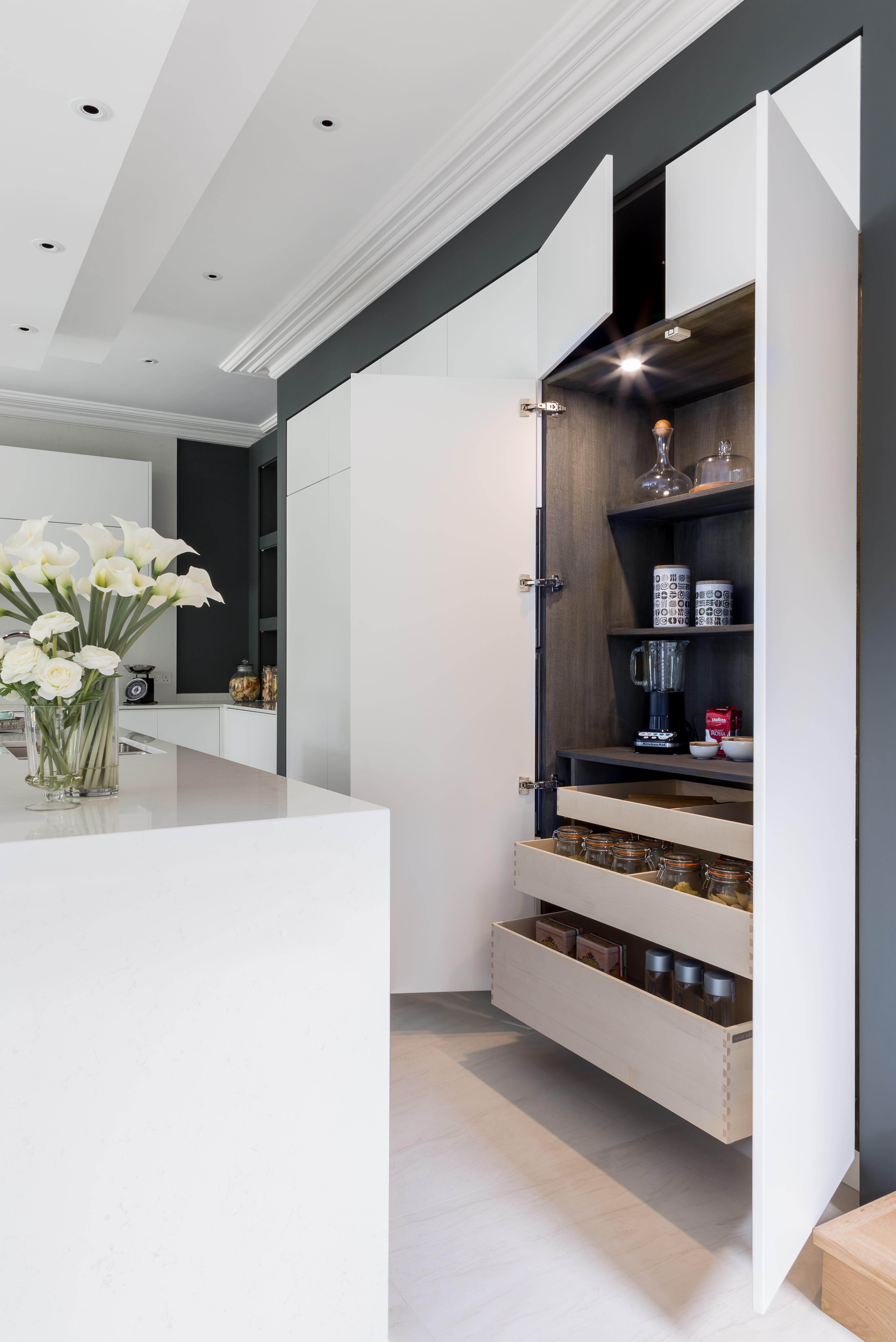 Miele Creating a Kitchen with Symmetry Storage