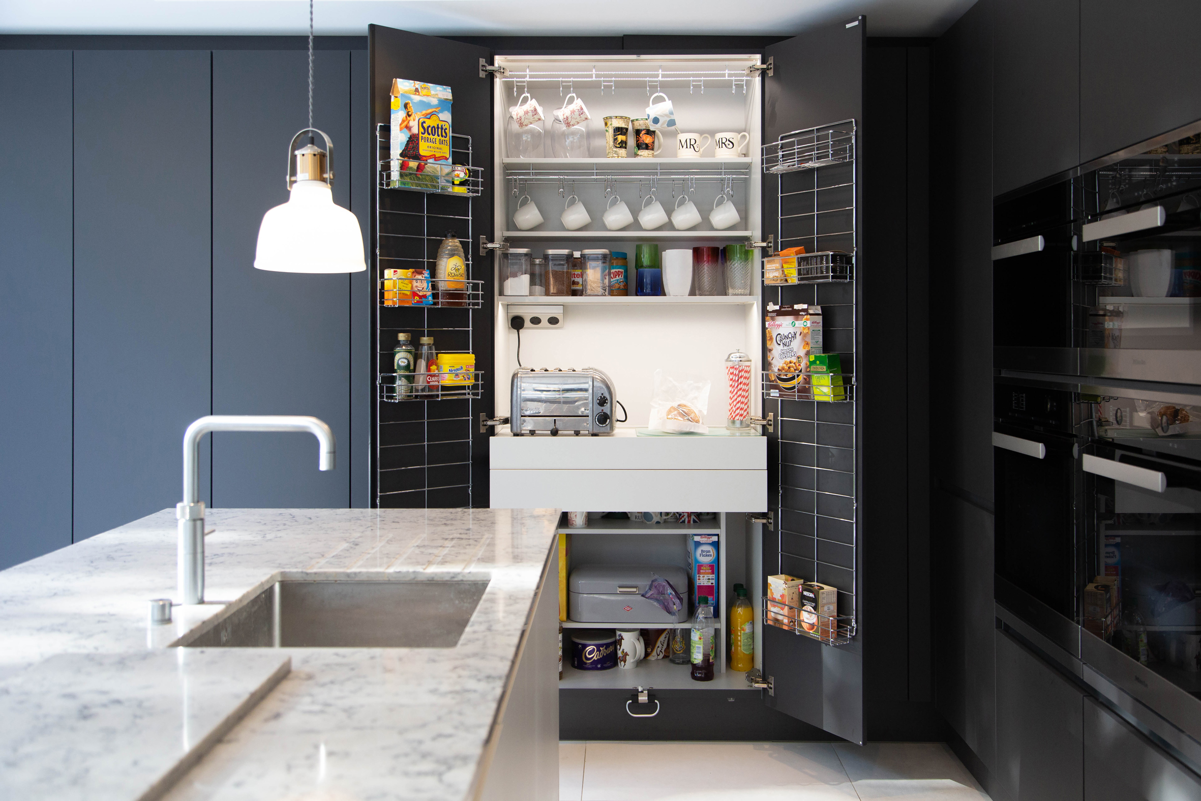 Vogue Kitchens Sink and Pantry