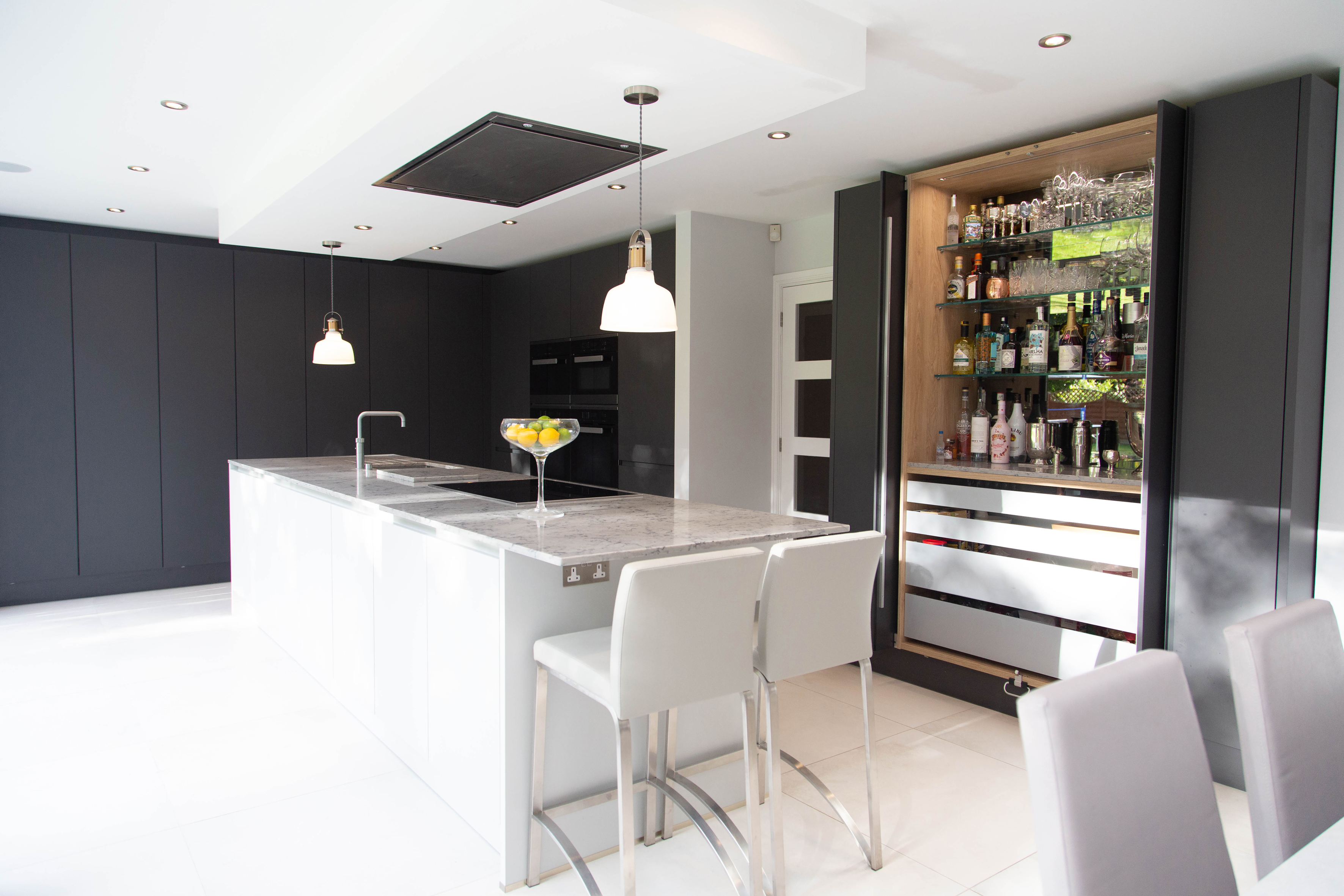 Vogue Kitchens Seating and Island